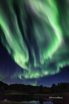 Aurora Borealis - North Pole, Alaska