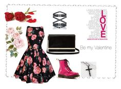 Valentines Day by sortmywardrobe on Polyvore featuring polyvore, fashion, style, Dr. Martens, Diane Von Furstenberg, Trend Cool, Eva Fehren and clothing