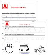 Free Alphabet printables!  Includes traceable letters, upper and lowercase worksheets, letter recognition, practice printing letters, letter matching, abc order, search and color pages!