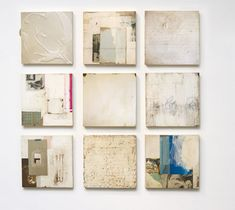 Jane Hambleton - Jane Hambleton Simple Truths a mixed media installation at Seager Gray Gallery in Mill Valley CA.