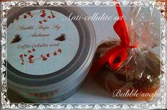 Bubble Soaps by Andriana: Anticellulite set-Σετ κατά της κυτταρίτιδας