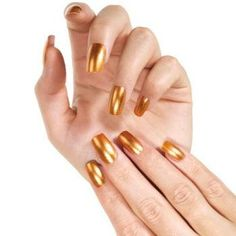 Very Sexy Gold Nails