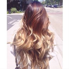 i love ombre hair