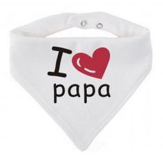 Bandana I love Papa Mamas And Papas, Bandana, My Love, Special Gifts, Bandanas