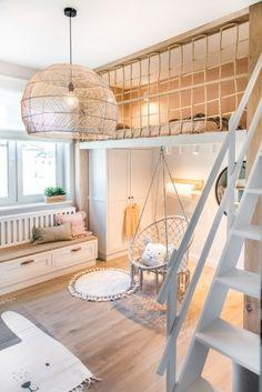 Room Design Bedroom, Girl Bedroom Designs, Room Ideas Bedroom, Bedroom Decor, Cool Kids Bedrooms, Cool Rooms, Small Room Design, Kids Room Design, Mezzanine Bedroom