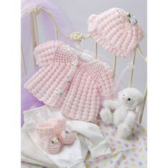 Beautiful Baby Boutique II Crochet Patterns Layettes Dress Sets Christening Gown
