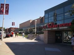 L.C. Walker Arena.  Muskegon,Michigan.    This arena helped save me from becoming a Detroit Red Wings fan.