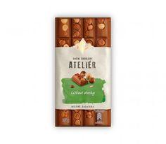 ORION Atelier Mléčná s lískovými ořechy