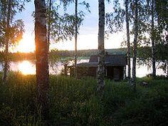 Suomalainen rantasauna / Finnish sauna by the water