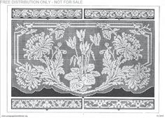 Antique Pattern Library is a free library of vintage lace, crochet, embroidery and knitting books and patterns. I'm using them to research and inspire filet crochet windows for our new house.