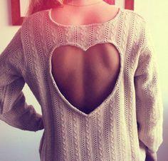 Heart Sweater   Tumblr