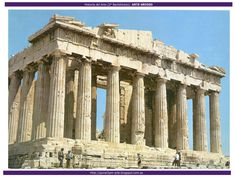 Arte Griego Parthenon Athens, Famous Buildings, Ancient Greece, Places To See, Tatoos, Louvre, History, Architecture, World