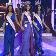 Aditi Arya won fbb Femina Miss India 2015 title and crowned by Koyal Rana,Miss India 2014.Shahid,Kareena,Jacqueline performed live in the coronation night
