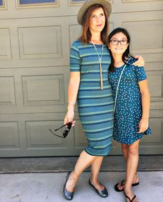 LuLaRoe Julia dress & Adeline dress. Shop every Monday & Tuesday LuLaClothes.com