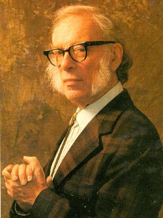 """Isaac Asimov (1920 - 1992). Conocido por, entre otras muchas obras, su saga de """"La Fundación"""", uno de los grandes clásicos de la ciencia-ficción."""