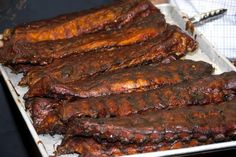 10 Top BBQ Rib Recipes for Your Grill or Smoker: Kansas City Ribs