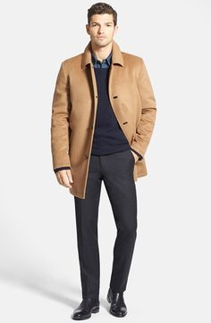 Free shipping and returns on Vince Camuto Car Coat, Grayers Sweater and Wallin & Bros. Trousers at Nordstrom.com.