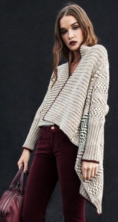 like the wide front band of the shrug and the crocheted edging of contrast colour