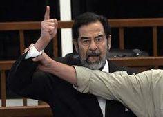 iraq war  War criminals person. Saddam Hussein