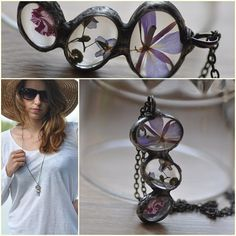 unique terrarium necklace tiny romantic jewelry gift door zolanna