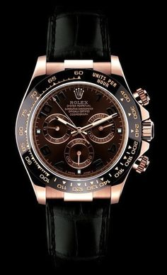 Rolex for women - Black and rose gold - Yes...I'm still dreaming:)