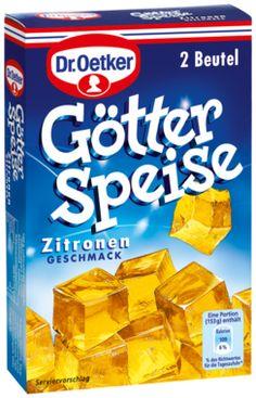 -in USA- Dr.Oetker Gotter Speise - Jello - Lemon