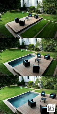 Gorgeous 88 Swimming Pool Ideas For A Small Backyard https://besideroom.com/2017/07/13/88-swimming-pool-ideas-small-backyard/