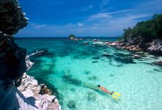 Similan Island, Thailand - best diving in the world!  Image via: similan.net