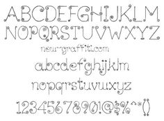 Graffiti Font Style Curly Lickcurl Petite, Free Download ... this font would be cute in a child's room, also to label drawer & bins