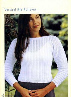 Ann Mccauley The Pleasures of Knitting: Timeless Feminine Sweaters 36 — Yandex.Disk Knitting Patterns Free, Knit Patterns, Free Knitting, Free Pattern, Turtle Neck, Feminine, Pullover, Album, Sweaters