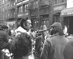 Godfather filming in NYC