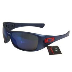 Oakley Antix Sunglasses Blue Lens Blue Frames-10848