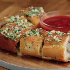 Meatball-Stuffed Garlic Bread