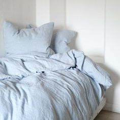 Bed Aesthetic, Baby Blue Aesthetic, Bedding Sets Online, Luxury Bedding Sets, Comforter Sets, King Comforter, Queen Bedding Sets, Duvet Cover Sizes, Duvet Covers