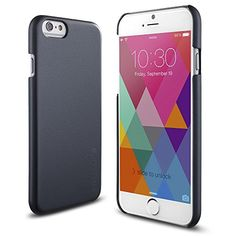 iPhone-6-case-INVELLOP-Perfect-Fit-iPhone-6-Case-Slim-NEW-Fit-Series-Thin-Fit-Premium-Clear-Hard-Case-Black-0-0