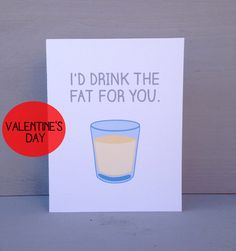 Friends TV show, Id drink the fat for you Its one of the most romantic gestures someone can do to show their love- drink the fat. Show that Best Friend Day, I Love My Friends, Friends Show, Cards For Friends, Friends Series, My Funny Valentine, Valentine Day Cards, Valentines, Best Tv Shows