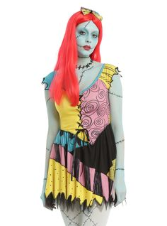 The Nightmare Before Christmas Sally Cosplay Dress