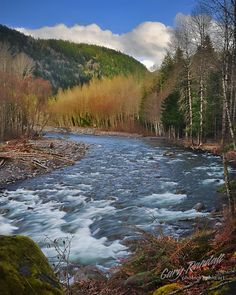 Upper Sandy River - Oregon - USA
