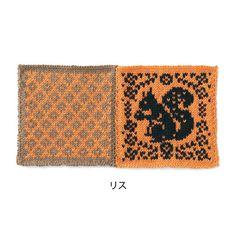 zakka collection [雑貨コレクション] 懐かしい北欧風モチーフを集めた棒針編みブランケットの会 フェリシモ