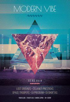 Modern Vibe Flyer by styleWish.deviantart.com on @deviantART