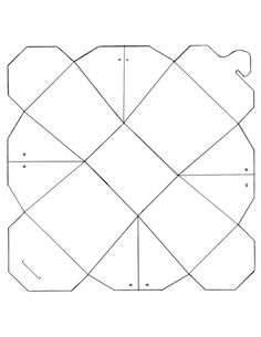 Chinese Take Out box template. / Papercraft - Originally designed w/ the idea that they could be unfolded to become a plate . who knew ? Paper Box Template, Card Templates, Diy Paper, Paper Crafts, Diy Crafts, Chinese Takeout Box, Hexagon Box, Printable Box, Printables