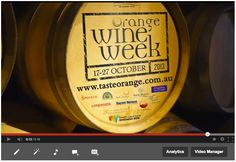 Orange Wine Week 17 - 27 October 2013