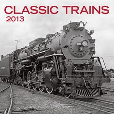 For my model train friends on Pinterest & Twitter:  Classic Trains Mini Wall Calendar: Train aficionados will be enthralled by the vintage black-and-white photographs of some of the mightiest, sleekest engines to ever ride the rails in this 2013 calendar.  http://www.calendars.com/Trains/Classic-Trains-2013-Mini-Wall-Calendar/prod201300003704/?categoryId=cat00696=cat00696