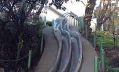 Seward Street slides - A fun way to take a little break while in San Francisco!