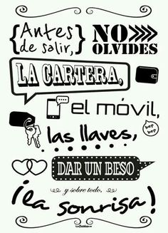 Good Day Quotes : QUOTATION – Image : Quotes Of the day – Description Sharing is Caring – Don't forget to share this quote ! Mr Wonderful, Spanish Quotes, Ideas Para, Hand Lettering, Diy And Crafts, Poems, Sweet Home, Typography, Inspirational Quotes