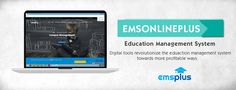 emsPlus is an advanced web based education management software offering highly flexible ERP solution with many features to manage your educational institution effectively.