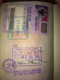 Visa Indonesia Gili Island, Islands, Bullet Journal, Indonesia