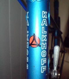 2 x Kalkhoff-Stickers-Many Colours-Size 100 mm x 10 MM