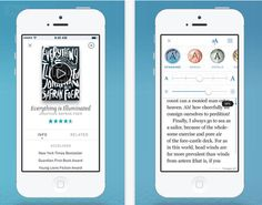 Oyster app - get dad an ebook subscription for Father's Day