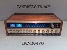 Tandberg TR - 2075 Stereo FM AM Radio Receiver